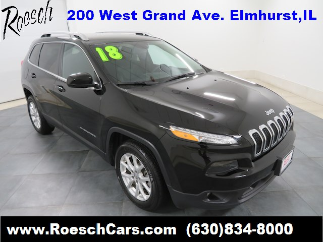 Pre Owned 2018 Jeep Cherokee Latitude Plus