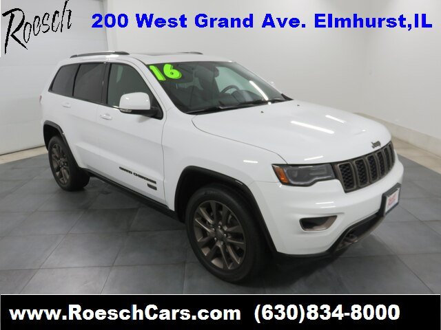 Pre-Owned 2016 Jeep Grand Cherokee Limited 75th Anniversary Edition