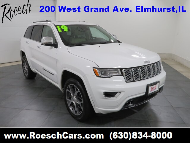 Pre Owned 2019 Jeep Grand Cherokee Overland With Navigation 4wd