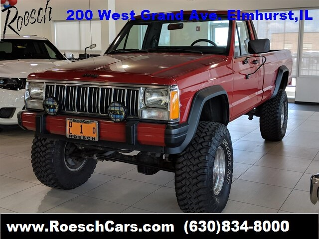 Larry Roesch Ford >> Pre-Owned 1988 Jeep Comanche Base 2D Standard Cab in Elmhurst #9605A | Larry Roesch Chrysler ...