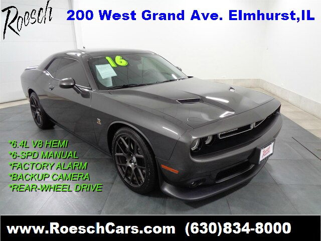 Pre-Owned 2016 Dodge Challenger R/T Scat Pack