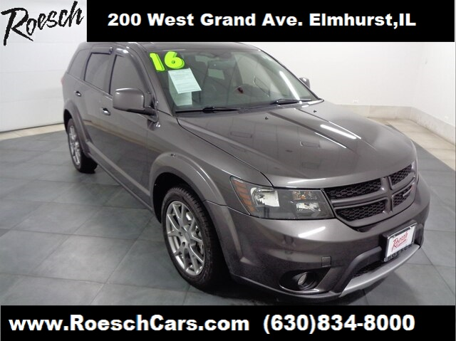 2016 Dodge Journey >> Pre Owned 2016 Dodge Journey R T With Navigation Awd