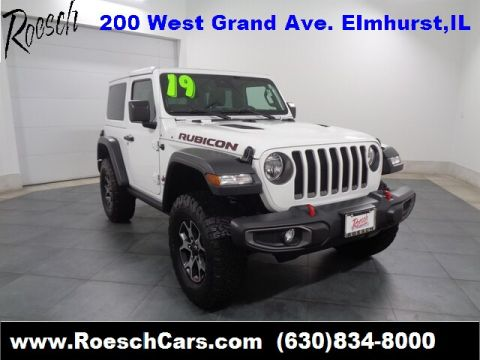 Pre-Owned 2019 Jeep Wrangler Rubicon